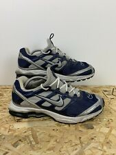 NIKE ZOOM AIR SHOX, Mens UK Size 11, Grey/Navy, Vintage Trainers,*GC*