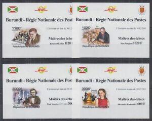 Z458. Burundi - MNH - Sports - Chess - Deluxe - Imperf