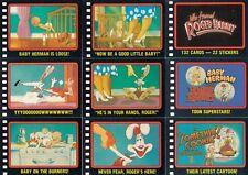 Who Framed Roger Rabbit - Complete Card Set (132/22) - 1988 Topps - NM