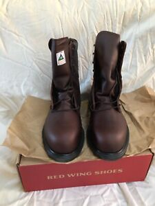 Red Wing 2412  Mens GOR-TEX STEEL TOE Work Boots 9 EEE NEW in Box
