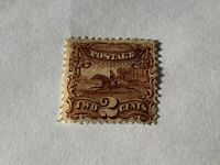 Outstanding 1869 #113 With Grill Looks Unused No Gum, Hinge Remnant