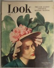 LOOK Magazine March 30 1948 Easter Hats Dali US AEC Military Training Divorce