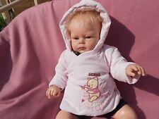 jolie veste doudoune Disney winnie bébé 3 mois ou poupée reborn,baigneur55cm
