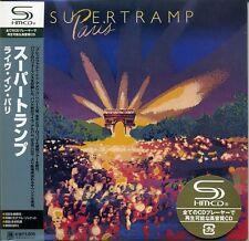 SUPERTRAMP Paris (1980) Japon MINI LP SHM 2cd UICY - 93613/4