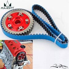 Racing Timing Belt + Adjustable Cam Gear Kit For Civic D16 D16Z D16Y 92-00 Red