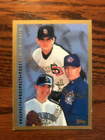 1998 Topps #264 Rookie Prospects Baseball Card Roy Halladay Fuentes Clement Raw