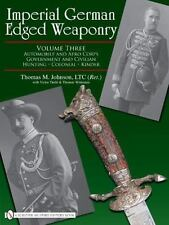 Book - Imperial German Edged Weaponry: Volume Three: Automobile and Aero Corps