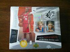 2003-04 SPX Basketball Hobby Box Lebron Wade Carmelo Bosh
