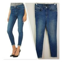 [ KAREN MILLEN ] Womens PZ015 Skinny Jeans  | Size AU 12 or US 8