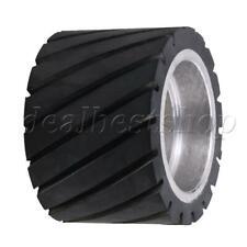 Serrated Surface Core Belt Grinder Sander Tool Making Grinder Rubber Wheel
