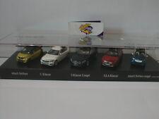 Minichamps MB2014 # Das Beste ... Mercedes Benz 5er Set 1:43 Lim.Ed. 360 pcs