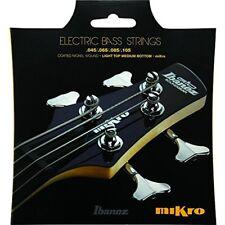 Iebs 4 Coated Nickel Wound Mikro Bass Guitar Strings (Iebs4Cmk) Musical