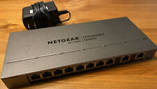 NetGear GS110MX Network Switch Unmanaged Used Works Great!