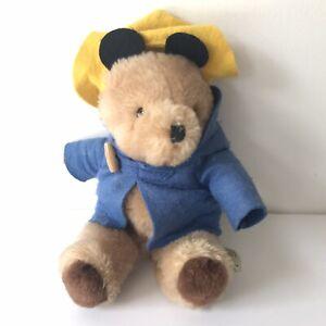 "Eden Paddington Bear 10"" Plush, Pa #4, Made in Korea, Vintage"