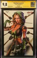 ROBYN HOOD I LOVE NY 5 CGC SS 9.8 GREG HORN NYCC EXCLUSIVE VARIANT ONLY 350 MADE