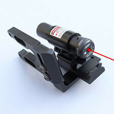 Tactical Red Dot Laser Sight Scope&Bracket Mount for compound bow&recurve Alum