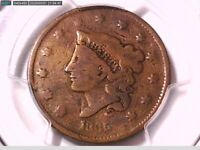 1835 Large Cent PCGS Genuine Damage - VG Detail Head of 1836 38421306 Video