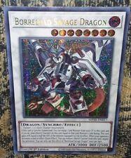 Borreload Savage Dragon MP20-EN012  Secret Rare YUGIOH MEGA TIN 2020 1ST Edition