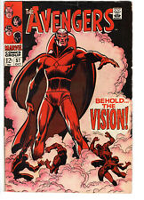 AVENGERS #57 (1963) - Grade 4.5 - 1st Silver Age appearance of the Vision!