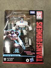 Transformers Studio Series 86-01 Jazz Animated Movie Deluxe Hasbro 2021 New