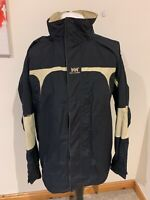 Mens Black Helly Hansen Helly-Tech Protection Hooded Jacket - Size Large (L) J55