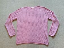 TU PINK CABLE KNIT JUMPER ..UK 14..NEW