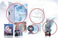 Monster Hunter World Iceborne Collector's Edition Velkhana figure Art Book CD