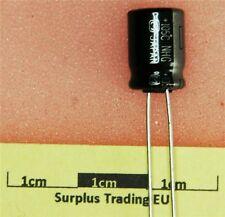 Condensatore elettrolitico radiale Panasonic 330uF 25V 105C (pacco da 5)