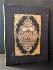 DE LIGNY Vie NS Jésus-Christ BEAU CARTONNAGE ROMANTIQUE POLYCHROME GRAVURES 1852