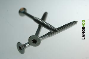 Edelstahl Spanplattenschraube Senkkopf Torx Ø 3,0 - 10 mm