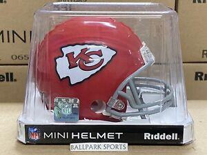 KANSAS CITY CHIEFS (1963-1973 Throwback) Riddell VSR4 Mini Helmet