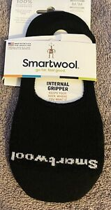 Brand New Women's Smartwool Internal Gripper Sz Medium Black Color $16.95 Value