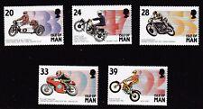 Isle of Man 1993 Manx Motor Cycling Events  SG567/71 MNH