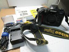 NIKON D100  Digital SLR Camera W/ Manuals Charger 2 batteries