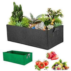 Fabric Grow Bag Planter Vegetable Tomato Potato Carrot Garden Plant Pot Handle