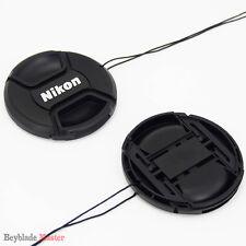 77mm Camera Snap-on Front Lens Cap cover For Nikon D40 D50 D60 D80 D90 D3000 NEW