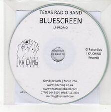 (CC728) Texas Radio Band, Bluescreen - DJ CD