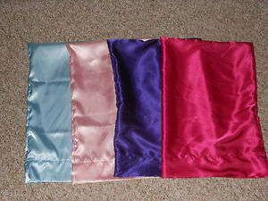 Personsalized Satin Toddler Pillow Case