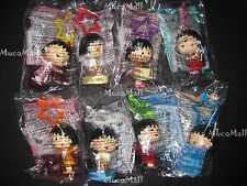 2012 Maruko McDonald's Happy Meal Toys Complete Sets of 8 pendant stamp on sale