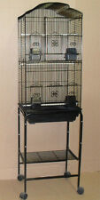 New Tall Cockatiel Parakeet Finch Canary Bird Cage With Black Stand K1703H-473