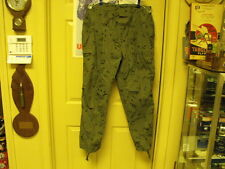 US Military Desert Storm Era Desert Night Camo Trousers, Unissued Size Med/Reg