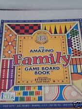 Amazing family game board book/35 classic games new