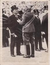 1927 Fascist Leader Benito Mussolini with Marshal Badoglie - News Photograph