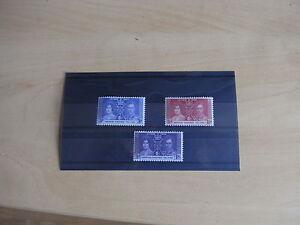 GEORGE VI 1937 CORONATION  SOLOMAN ISLES  UN MOUNTED MINT