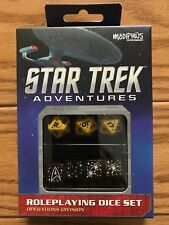 Star Trek Adventures RPG: Dice Set - Operations Gold