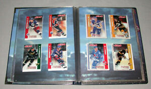 1994-95 NHL Kraft - Jell-O Award Winning Full Hockey Cards Set + Album