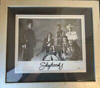 SKYHOOKS HAND SIGNED 8 X 10 FRAMED BY ALL MEMBERS  - RARE