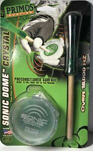 Primos Sonic Dome Crystal Pot Call Turkey Call 248