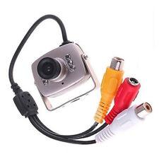 Cámara Espía Mini diminuto 6 IR LED CCTV para Seguridad Cámara IR Visión Nocturna