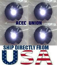 4 X High Quality MG 1/100 QANT Raiser Gundam WHITE LED Lights - U.S.A. SELLER